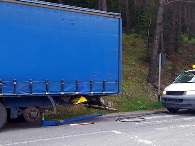 serwis auta ciężarowego